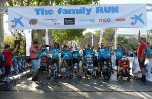 The Family Run carreras con niños en Barcelona