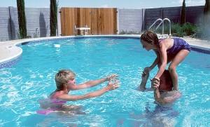 Deportes en familia cuando hace calor