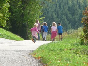 Deportes extremos para padre e hijos el senderismo