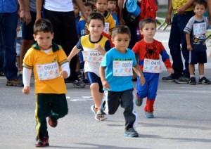 Carreras con niños en Madrid