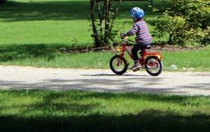 Rutas en bici con niños en Madrid