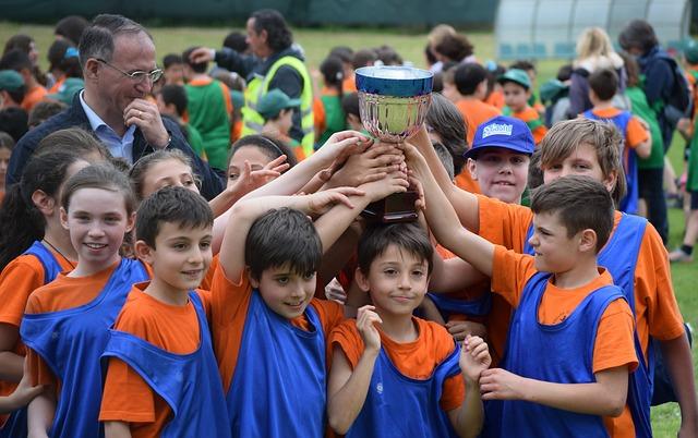 Deporte infantil por equipo