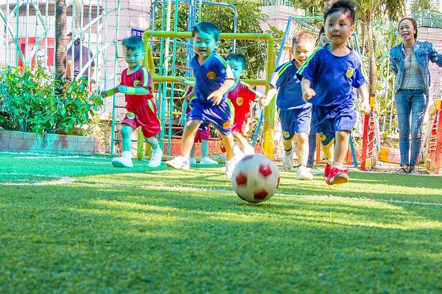 Deportes para niños por equipos
