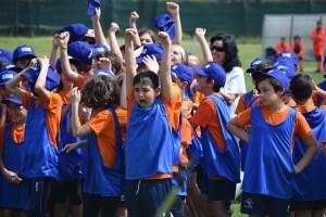 Deportes por equipos para niños