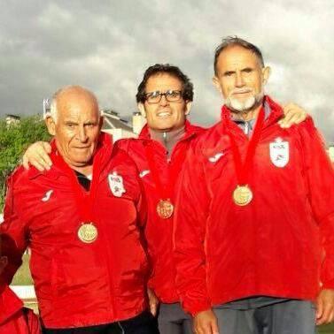 El mayor atleta veterano de Madrid