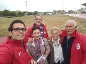 El mayor atletas veteranos de Madrid