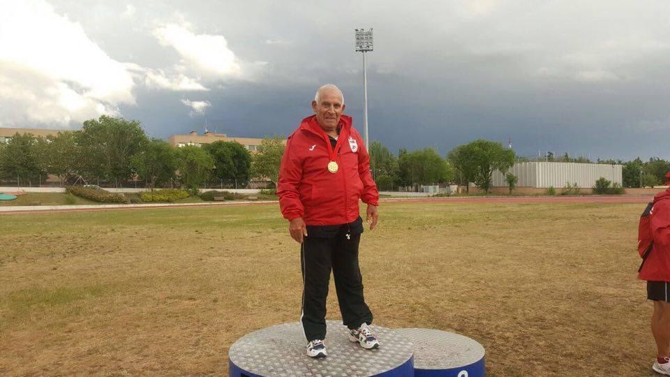 mayor atleta veterano Madrid