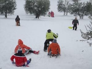 Esquí según la edad de los niños