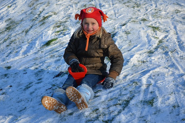Esquí según las edades del niño