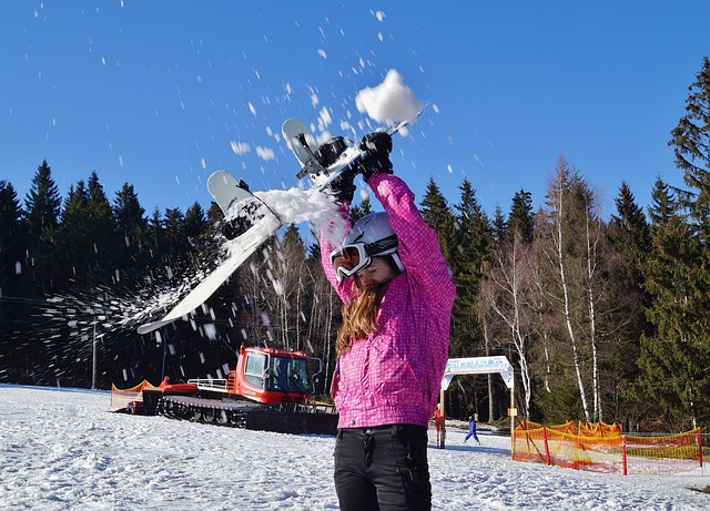 Snowboard para niños
