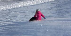 Deportes con nieve para niños-niña