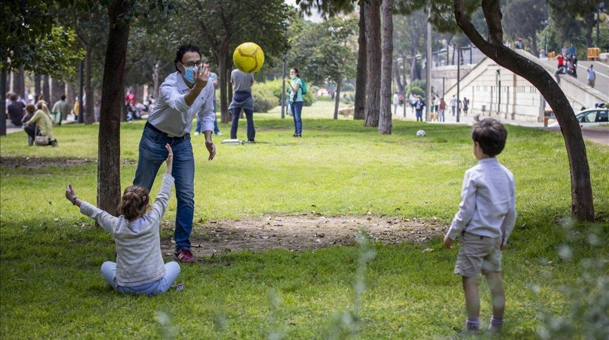 Como hacer deportes con coronavirus-parque